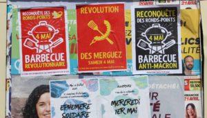 Nous avons perdu - affiche dans le XIX° arrondissement de Paris en 2019