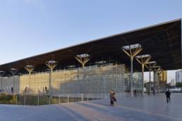 Modernité à la Gare de Casa-Port Maroc