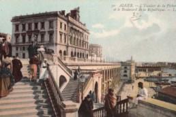 mon départ d'Alger, en aout 1959