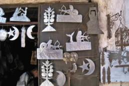Liberté et de création au souk de Marrakech