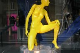 Mannequins des vitrines (clic)