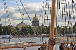 St Petersbourg ville de pouvoir