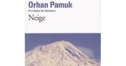 Neige du prix Nobel turc Orhan Pamuk