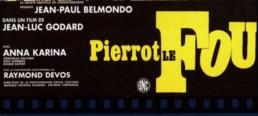 Pierrot le fou - film de Jean Luc Godard - Belmondo et Anna Karina