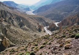 Photo des montagnes de l'Atlas - La route du pèlerinage à la Mecque par l'Atlas marocain de départ du Haj
