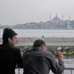 Photos Istanbul coucher de soleil Corne d'Or Fatih Pont de Galata