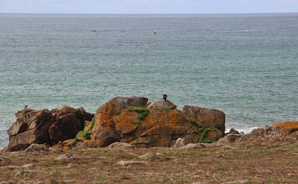 le lieu de naufrage du Séquana, Ile d'Yeu