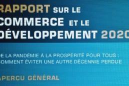 La CNUCED ouvre des brèches dans son Rapport 2020
