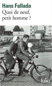 «Quoi de neuf petit homme?» de Hans FALLADA (ndl) couverture de livre