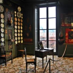 Maisons de V Hugo – H de Balzac – E Delacroix