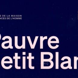 « Pauvre petit Blanc » de Sylvie Laurent