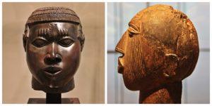 Un « masque » ou une « bavette » Musée du Louvre