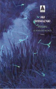 « Hotaru – Le poids des secrets » de Aki SHIMAZAKI (couverture du livre)