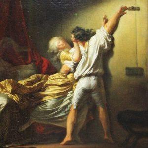 On honore la violence faite aux femmes et aux enfants ! - Le Verrou de Fragonard 1777